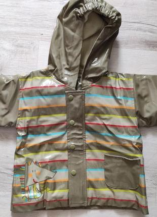 Куртка-дождевик на флисовой подкладке