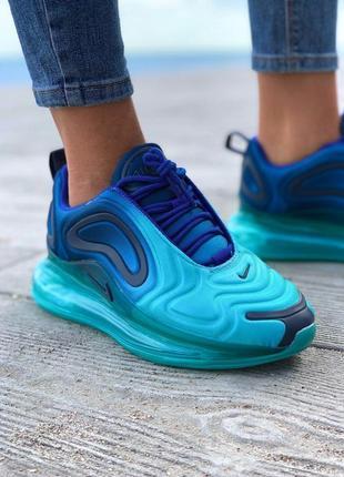 Nike air max 720 женские кроссовки бирюзовые