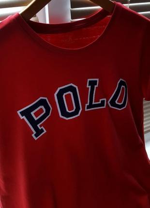 Изящная футболка polo ralph lauren