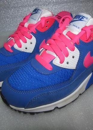 Nike air max~ женские кожаные кроссовки ~ р 38 / 24,5 см оригинал
