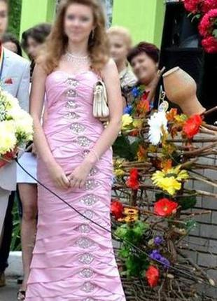 Нежное платье для выпускного