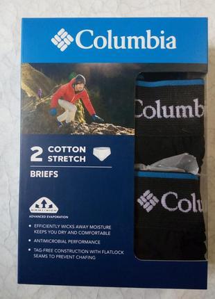Чоловічі труси columbia sportswear black cotton  omni-wick оригинал р м