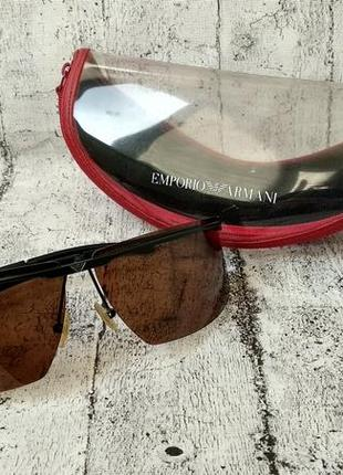 Солнцезащитные очки от emporio armani made in italy