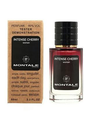 Тестер стойкий montale intense cherry 60 ml духи женские монталь интенс черри
