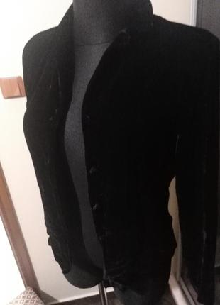 Бархатная блуза