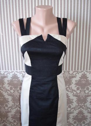 Оригинальное платье сарафан от h&m
