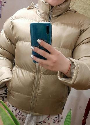 Евро зима дутая куртка