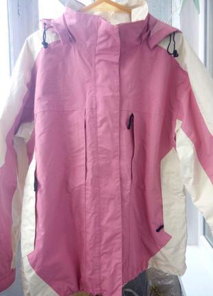 Беспроигрышный вариант! лыжная / горнолижна/ спортивная  куртка (новая, без утеплителя) cranesports