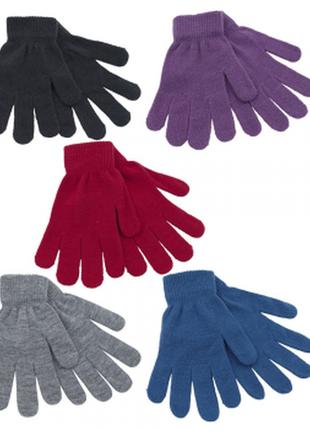 Перчатки трикотаж rjm accessories, one size