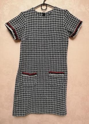 Платье футляр рогожка размер s/m #розвантажуюсь