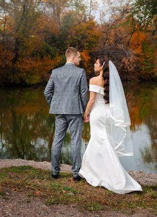 Новое!свадебное платье в идеальном состоянии