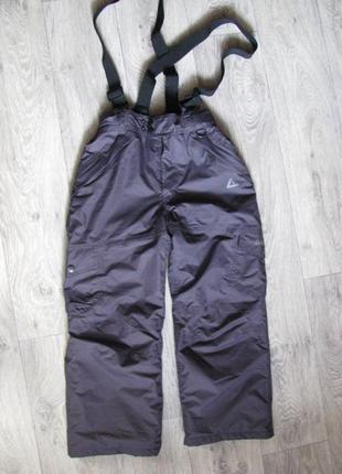 Штаны лыжные полукомбинезон 7-8 лет 128 см теплые зимние dare 2b германия