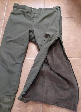 Охотничьи  штаны на меху 2xl-5xl