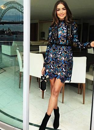 Восхитительное платье с вышивкой, кружевное, ажурное