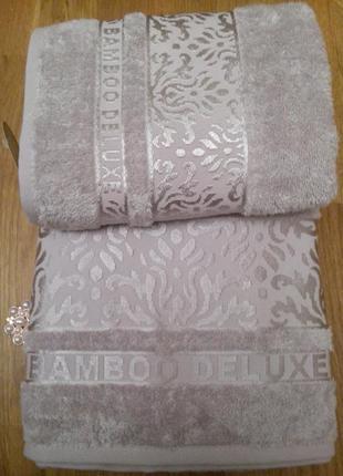 Бамбуковые полотенца cestepe bamboo damask silk турция