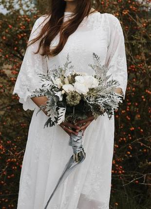 Свадебное платье, для фотосессии, романтичное