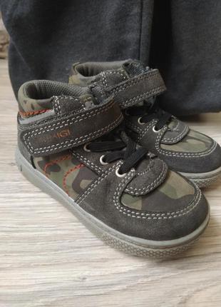 Детские демисезонные ботинки кроссовки