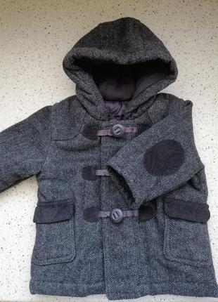 Стильное пальтишко для маленького модника