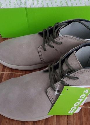 Ботинки crocs м8