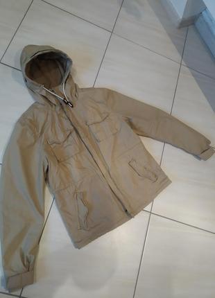 Куртка, вітровка бежева
