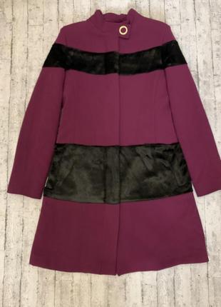 Стильное итальянское пальто/тренч tume