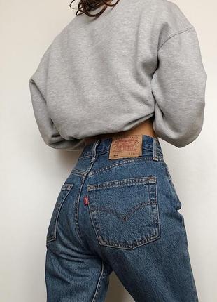 Мом джинсы винтаж levis 501 w26l32