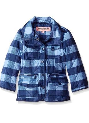 Куртка стёганная демисезонная для девочки urban república