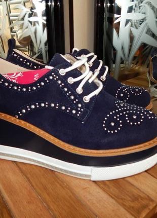 Туфли сникерсы  на платформе лучшая цена!!