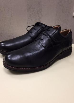 Туфли мужские rockport, новые, кожа, бразилия, размер 46-47, стелька 32 см.