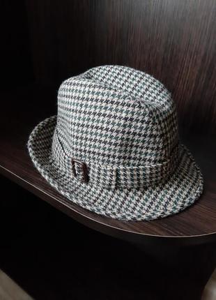 Шляпа, шляпка в клетку