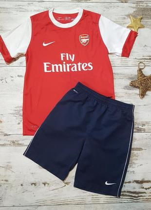 Футбольная летняя форма arsenal