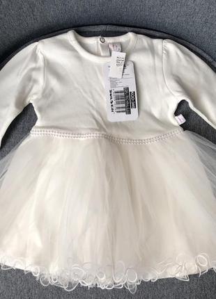 Праздничное платье для самых маленьких