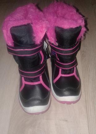 Ботинки зима на девочку