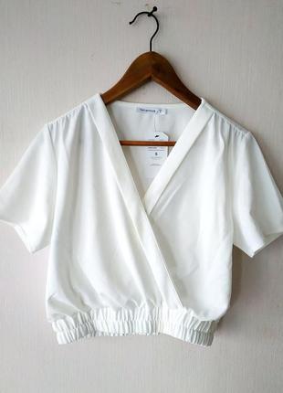 Укороченная рубашка от terranova