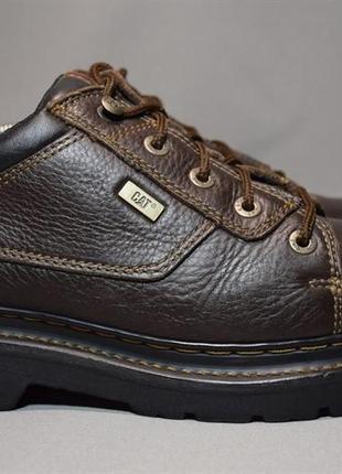Туфли ботинки caterpillar cat мужские кожаные. оригинал. 42.5 р./27.5 см.