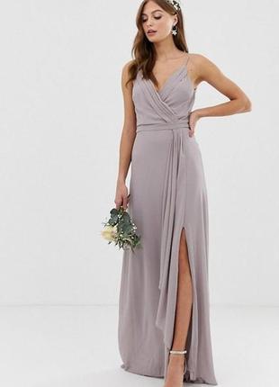 Платье с шлейфом  tfnc,  размер 10