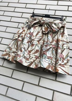 Цветочная юбка с бантиком joules