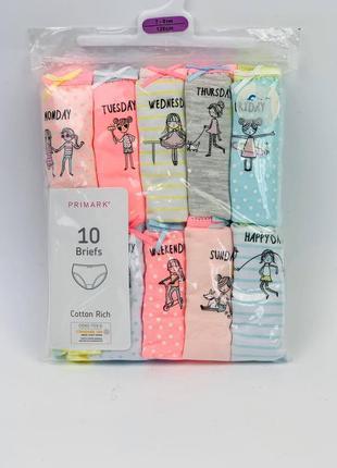 Детские трусы примарк для девочек