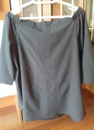 "Новая блузка ""на плечи""3 фото"