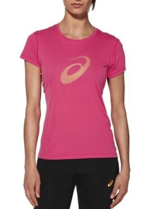 Футболка asics motiondry logo women's t-shirt asics
