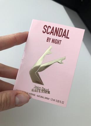 Пробник тестер scandal jean paul gaultier