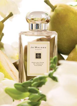 Лучший аромат на осень 💞 jo malone english pear & freesia 100 мл, духи джо малон груша