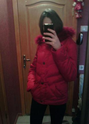 Куртка зимняя пуховая snow owl