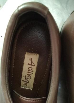Туфли из натуральной кожи размер 38
