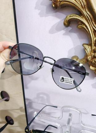 Красивые круглые солнцезащитные очки havvs polarized