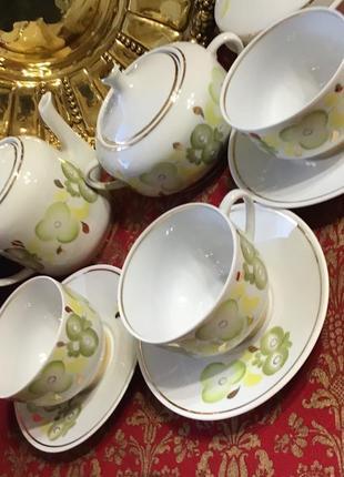 Чайный сервиз украина довбыш винтаж фарфор