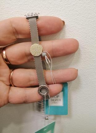 Срібний браслет пандора