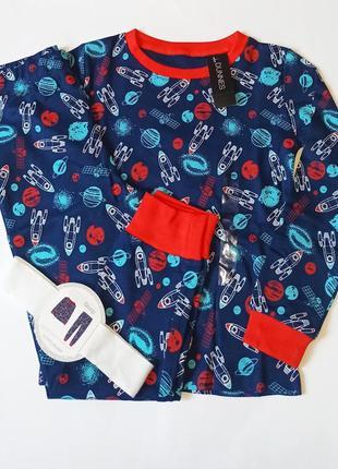 Шикарная пижамка от dunnes из англии. размеры 5-6,9-10 лет