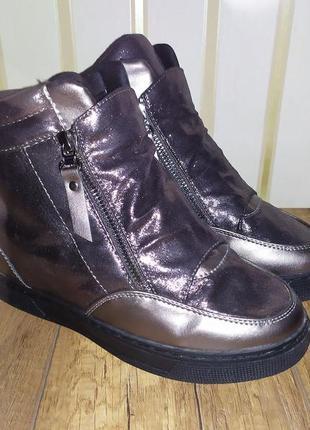 Ботинки, сникерсы новые emas 38 р-р, 24 см