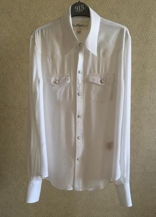 Белая рубашка true religion